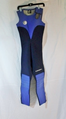 Youth Kids O'NEILL Sleeveless Wetsuit Diving Suit Swim 12 BLUE Surf