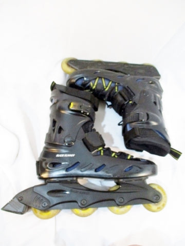 Mens BLADE RUNNER PRO 3800 Recreational In-Line Skate INLINE 11 BLACK SKATES