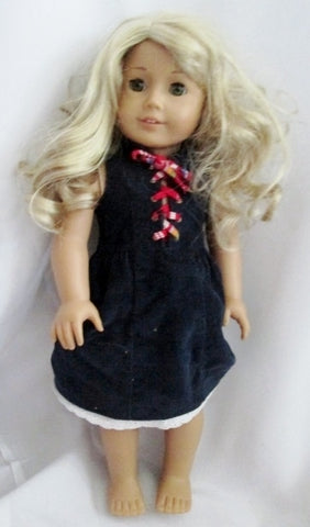 AMERICAN GIRL DOLL YEAR LANIE HOLLAND 2010 Retired BLONDE HAIR GREEN EYES HAZEL