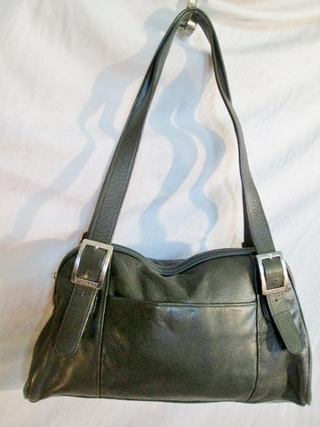 STONE & CO. leather tote shoulder bag hobo purse satchel MOSS OLIVE GREEN LODEN