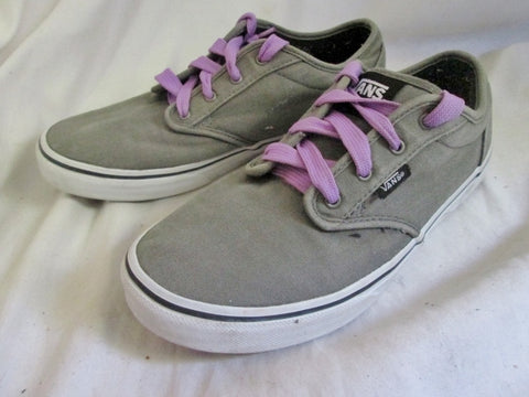 EUC Womens VANS Skateboarding Skater Thrasher Sneaker Shoe 9 GREEN PURPLE