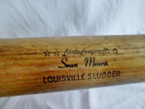 "31"" SEAN MEARA LOUISVILLE SLUGGER #125J Wood BASEBALL BAT USA Little League"