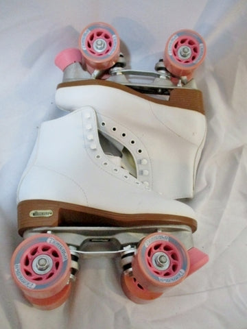 NEW Womens CHICAGO ROLLER SKATES Rollerskate 6 WHITE PINK Derby