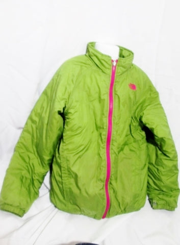 Youth GIRLS THE NORTH FACE  JACKET Coat M 10/12 GREEN AVOCADO