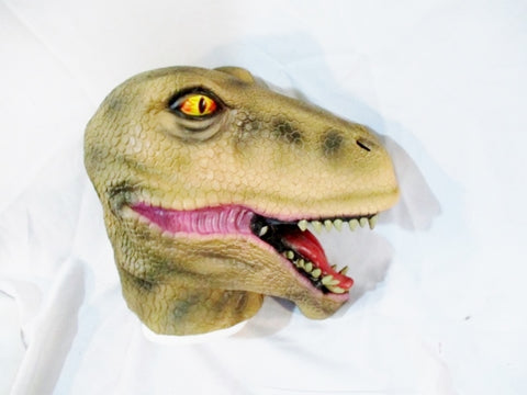 DINOSAUR MASK HALLOWEEN Party Disguise Cosplay Jurassic Park World T-Rex