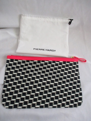 NEW PIERRE HARDY GEOMETRIC Evening Bag Clutch Pouch CASE Bag Purse w Dustbag!