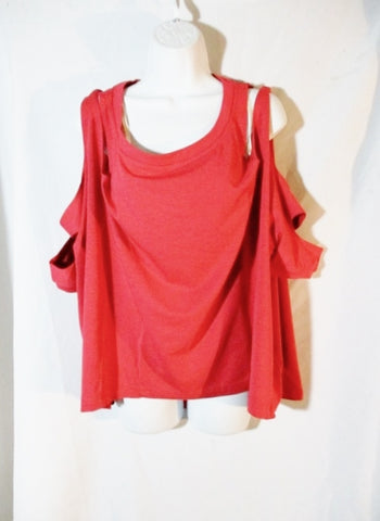 NWT NEW STELLA MCCARTNEY ADIDAS PERF SWIM TUNIC RED S CORAL RED