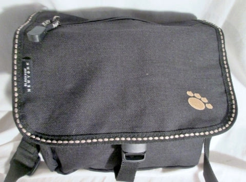 BLACK PAW NEW YORK Shoulder Flap Bag Man Purse Vegan Crossbody BLACK Messenger