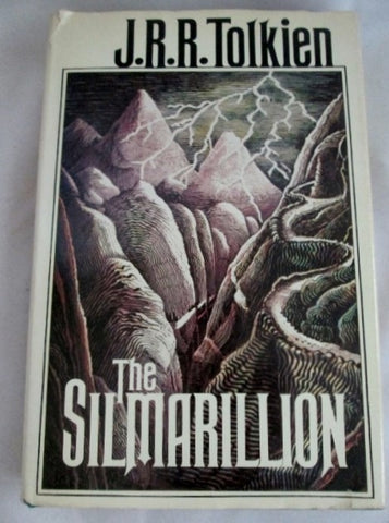 The Silmarillion J.R.R. Tolkien Novel 1st Edition 1st Printing 1977 1st Book LOTR