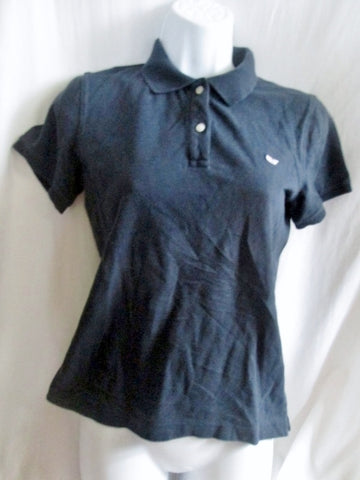 Womens VINEYARD VINES POLO Shirt XS NAVY BLUE Whale Preppie Club