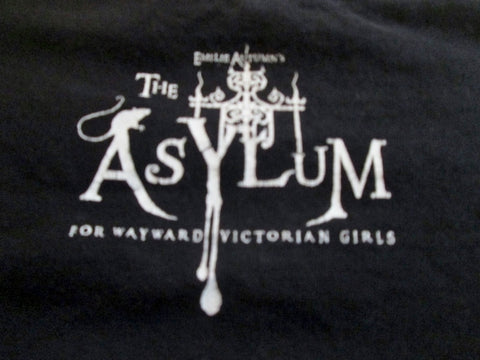 EMILIE AUTUMN ASYLUM ARMY GET COMMITTED T-Shirt L BLACK Mens Concert