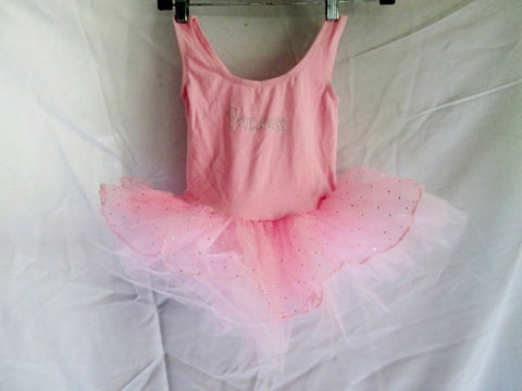 NEW NWT Girls POPATU PRINCESS TUTU Leotard Ruffle Dress PINK 8 Posh Intl