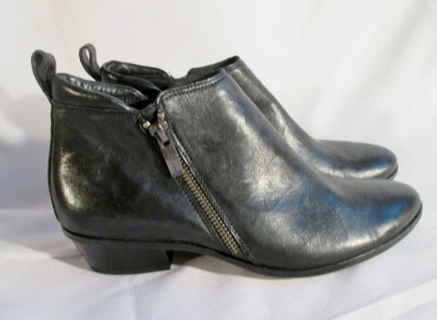 EUC Womens PAUL GREEN MUNCHEN Ankle Chukka Leather BOOT BLACK 4.5 Booties