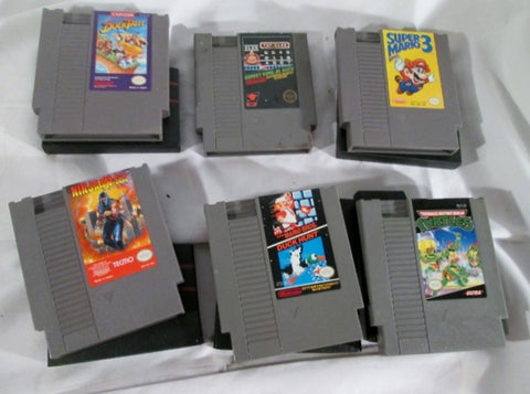 Lot Vintage NINTENDO Video Game Set JAPAN SUPER MARIO BROS
