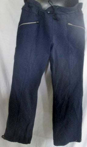 Womens ATHLETA 54023 Sweatpants Athletic Workout Yoga Fitness Pants BLUE S  NAVY