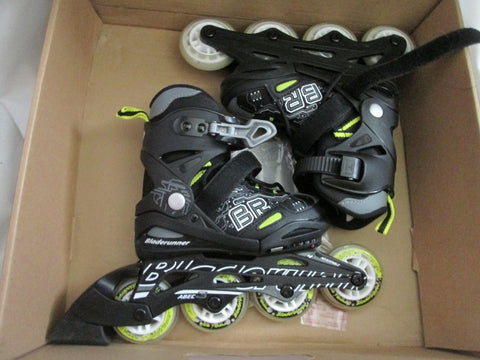 Junior BLADERUNNER TWIST Junior Adjustable Skate ROLLER DERBY INLINE SKATES 11 - 13 ABEC