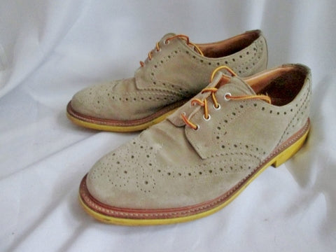 Mens MARK MCNAIRY NEW AMSTERDAM SUEDE COUNTRY BROGUES 11.5 ENGLAND Shoes BEIGE