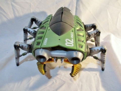 Mattel 02 N.S.E.C.T.™ RC Vehicle 27mhz INSECT BIO BUG ROBOT Blaster