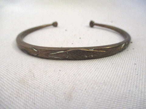 Handmade AFRICA BRONZE BRASS Primitive Bracelet Cuff Bangle Arm Wrist Band Ethnic