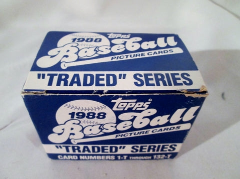 NEW Set 1988 Topps AMERICAN BASEBALL CARDS IRELAND 1-T through 132-T