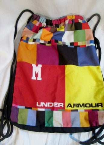 UNDER ARMOUR String Sling Bag Backpack Rucksack Vegan Sports School Travel Gym
