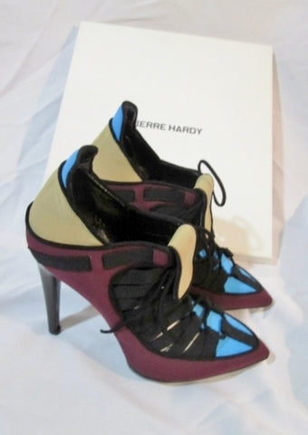 NEW NWT PIERRE HARDY Neoprene Stiletto Heel Shoe 36.5 6 Womens NIB