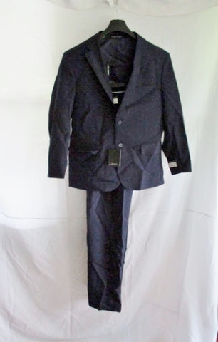 NEW VITTORIO ST. ANGELO JACKET SUIT BLAZER Pant NAVY BLUE 40S 34W Formal Sports