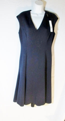 NWT NEW WOMENS ELIE TAHARI MORIAH Dress 10 Navy BLUE STARGAZER