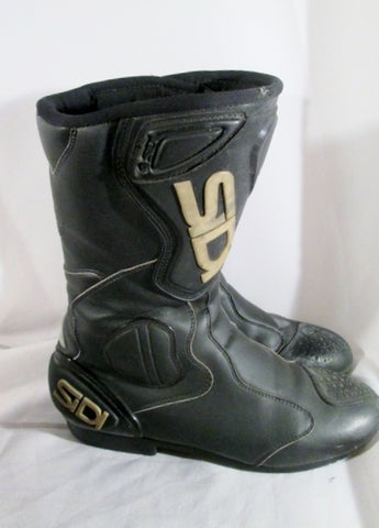 Mens Sidi Moto Motorcycle Motorbike Touring Boots RIDING Biker BOOT 11 BLACK