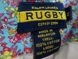 Womens RALPH LAUREN RUGBY Dress Casual Cotton SHORTS MADRAS PLAID 2