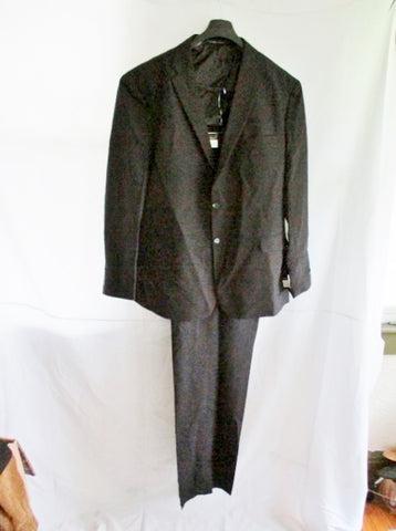 NEW VITTORIO ST. ANGELO JACKET SUIT BLAZER Pant BLACK 52L 46W Formal Sports
