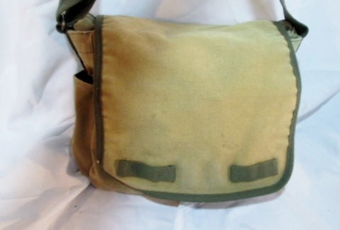 RAPID DOMINANCE RAPDOM Tactical Messenger Crossbody Biker Bag GREEN Man Purse Canvas