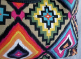 NEW GIANNINI Geometric Ethnic Southwestern Cowgirl Colorful Clutch Purse Bag Satchel Tribal Multi