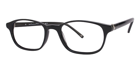 Mens Womens WILLIAM RAST 1026 Eyeglasses Eye Glass 52 19-145 BLACK w Case