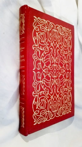 1978 EASTON PRESS MOLIERE TWO PLAYS Hardcover Leather Book RED Collectible Gilt