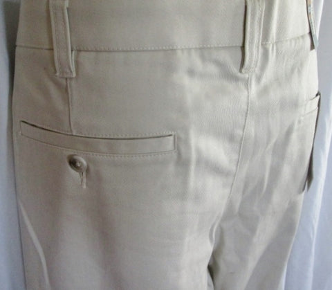 NEW NWT MENS CHEROKEE ULTIMATE Khaki Flat Front Chinos PANTS 42X30 Nano-tex