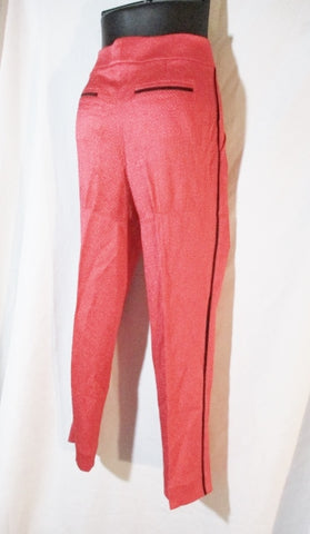 NWT NEW LOUIS VUITTON Paris Trouser Pant Slacks Stripe 38 6 RED PEACH