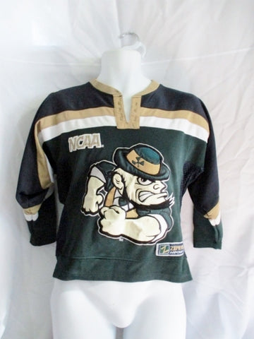 Youth NCAA ZEPHYR NOTRE DAME FIGHTING IRISH L/XL HOCKEY Jersey GREEN Shirt