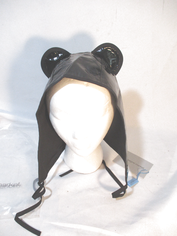 NEW NWT MONTAIGNE MARKET Kitty BLACK Cat EAR HOOD HAT Cosplay
