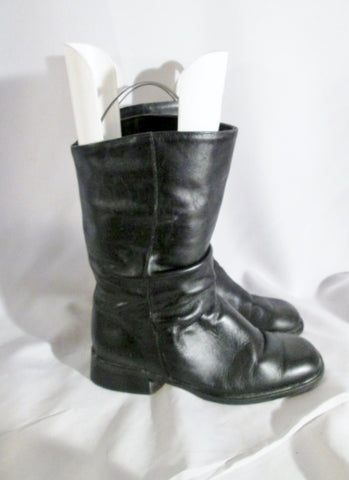 Womens SANTANA 833 CANADA LEATHER Ruched BOOT Moto 9.5 Waterproof