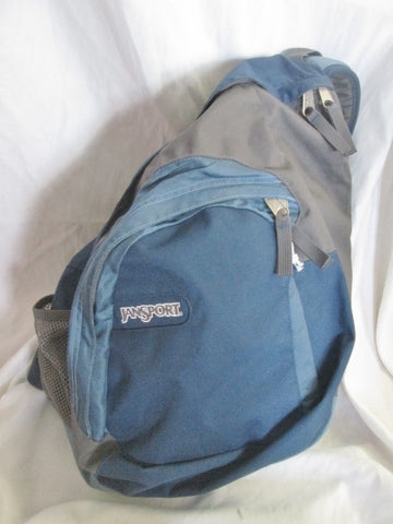 JANSPORT AIR CISCO PACK Book BAG Backpack Sling Bag Vegan TDN9 Gray School