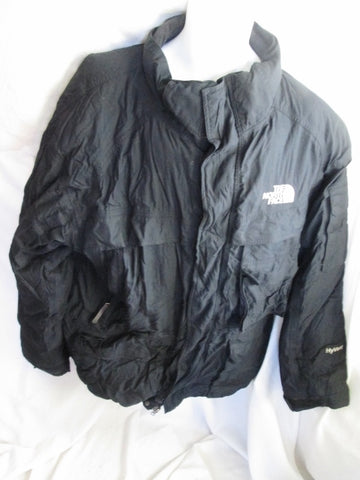 MENS THE NORTH FACE HYVENT Jacket Coat Winter Hood Down Puffer Ski BLACK XXL