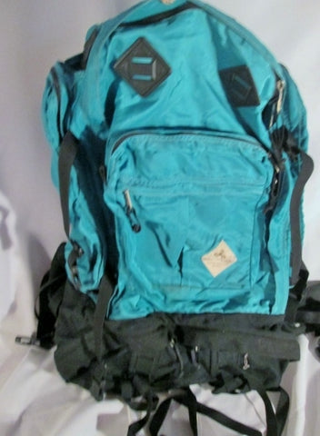 EMS EASTERN MOUNTAIN SPORTS LARGE Backpack Rucksack Travel Hiking Camping GREEN