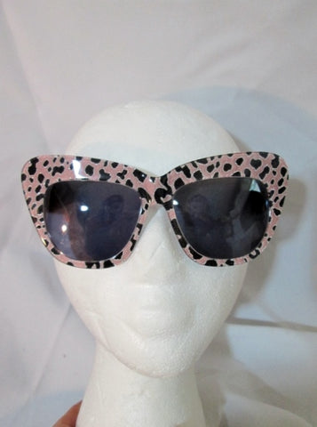 NEW CUTLER GROSS SCOOBIES COLLEOPARD Sunglasses Handmade PINK LEOPARD
