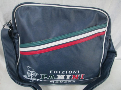 NEW EDIZIONI PANINI MODENA Flight Gym SOCCER Bag Crossbody BLUE ITALY NWT