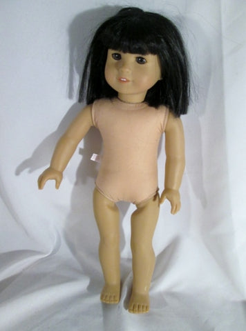 2006 AMERICAN GIRL DOLL JESS Retired DARK SKIN DARK HAIR BROWN EYES Almond