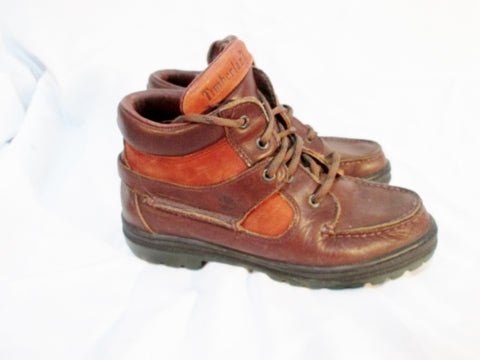TIMBERLAND 38345 GORE-TEX Leather HIKING Boot 5.5 BROWN Kids Youth Boys
