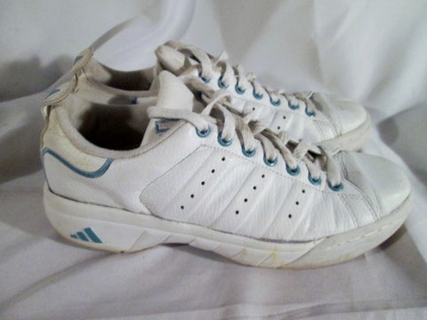 Womens ADIDAS STAN SMITH Running Sneakers Athletic Shoes WHITE 9 Fitness Workout