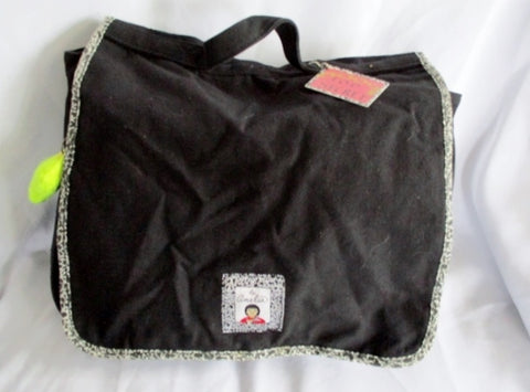 AMERICAN GIRL AMELIA Shoulder Book Flap Bag Crossbody BLACK Purse