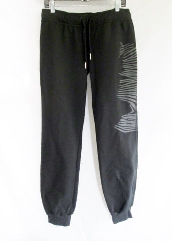NEW ADIDAS STELLA MCCARTNEY Athletic Pant Fitness BLACK 36 Sweatpant Workout FEATHER